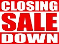 CLOSING DOWN SALE ITEMS