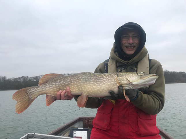 Another 'deep water' Pike for Andy