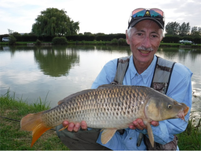 Andy with a typical Mushroom Farm Common
