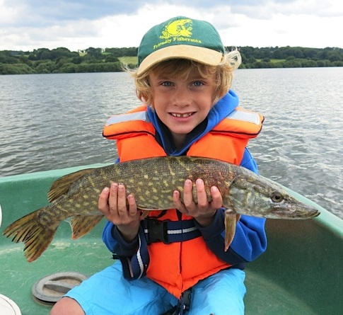 George with a nice Pike