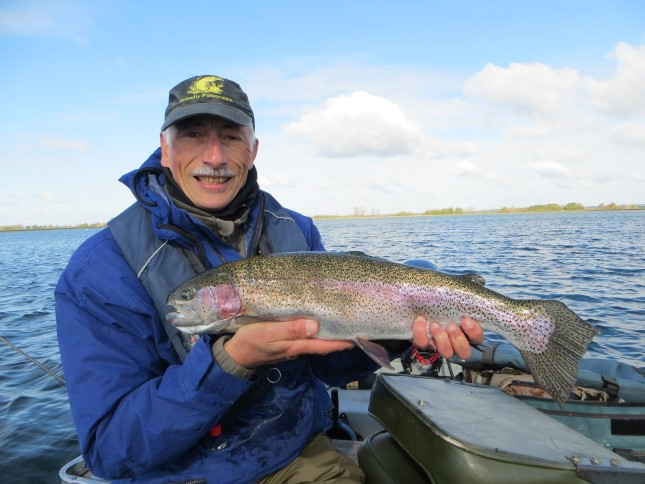 Andy's 6lb 1oz Farmoor Rainbow