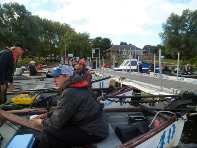 Getting ship shape before the WPC at Grafham Water