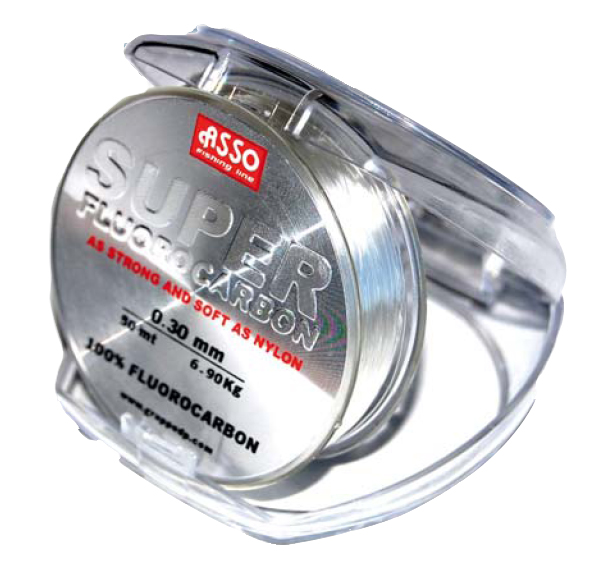 Asso super fluorocarbon the friendly fisherman online store for Fluorocarbon fishing line