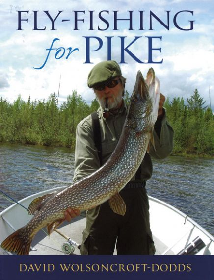 Fly fishing for pike david wolsoncroft dodds book for Best fly fishing books