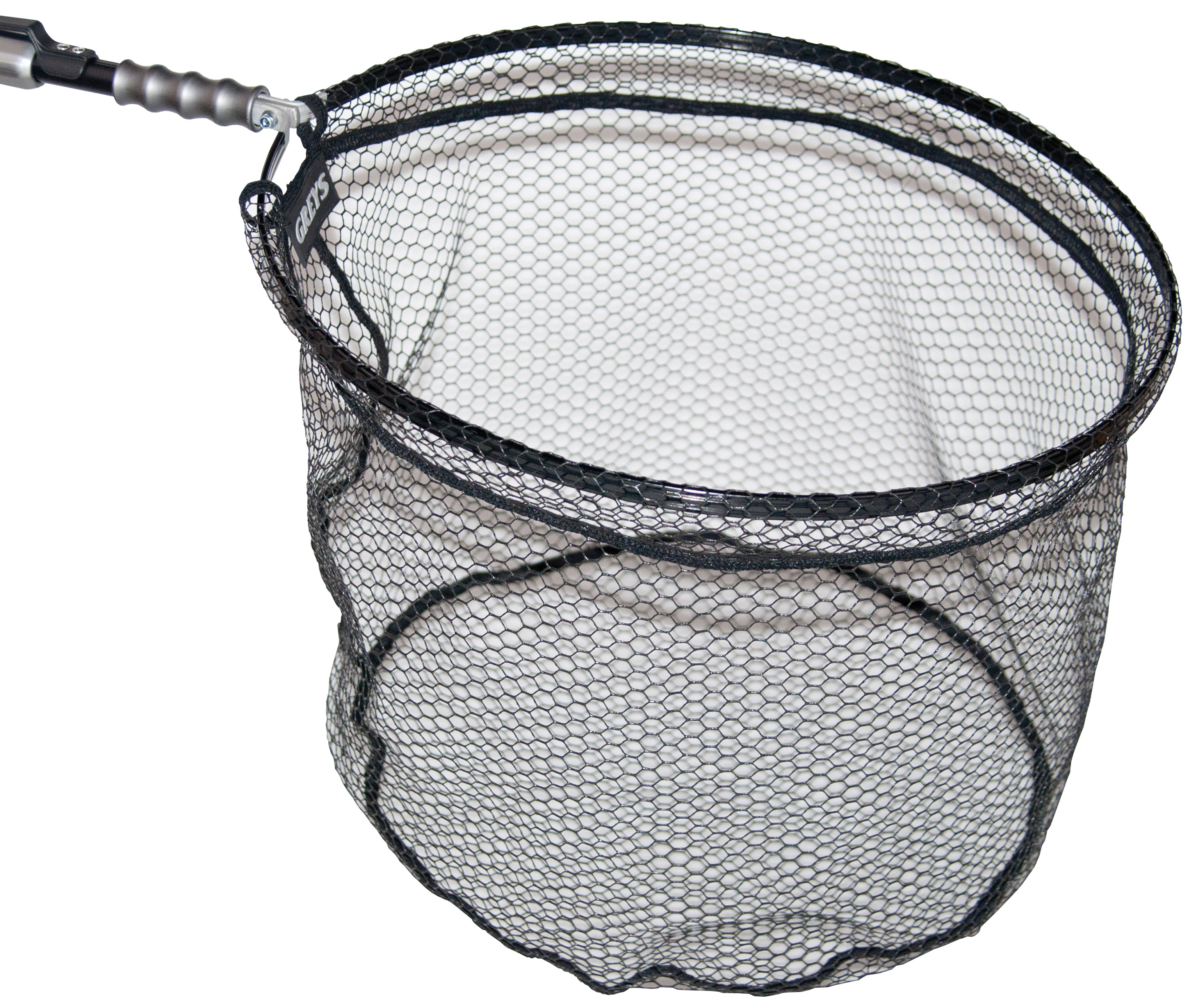 Greys gx folding landing net the friendly fisherman for Collapsible fishing net