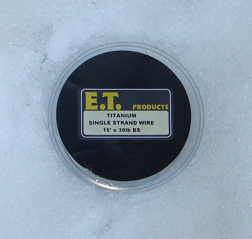E.T. TITANIUM SINGLE STRAND WIRE product image