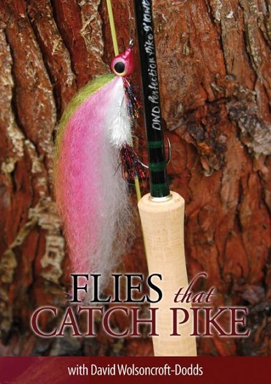 FLIES THAT CATCH PIKE - DAVID WOLSONCROFT-DODDS (DVD) product image