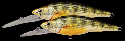 KOPPERS LIVETARGET YELLOW PERCH MEDIUM DIVER METALLIC PERCH 102 product image