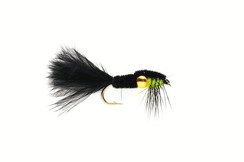 FULLING MILL MONTANA NUGGET BLACK & GREEN MARABOU 970 product image