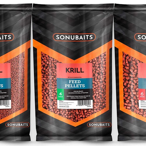 SONUBAITS PELLET KRILL FEED 2MM product image