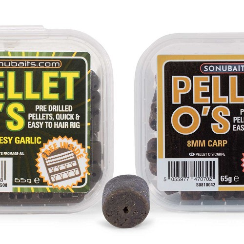 SONUBAITS PELLET O's  8MM & 14MM product image