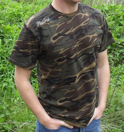 PHAT FISH CAMO  T-SHIRT product image