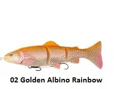 SAVAGE GEAR 3D LINE THRU TROUT GOLDEN ALBINO 02 x product image