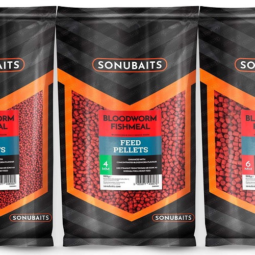 SONUBAITS PELLET BLOODWORM FISHMEAL 2MM product image