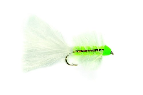 FULLING MILL GOLDEN BULLET WOOLY WORM CHARTEUSE 1191 product image