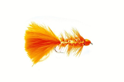FULLING MILL GOLDEN BULLET WOOLY WORM ORANGE 1192 product image