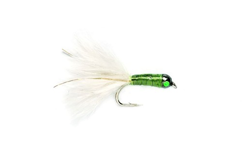 FULLING MILL LEAD STALKING BUGS CHARTREUSE & WHITE 1034 product image