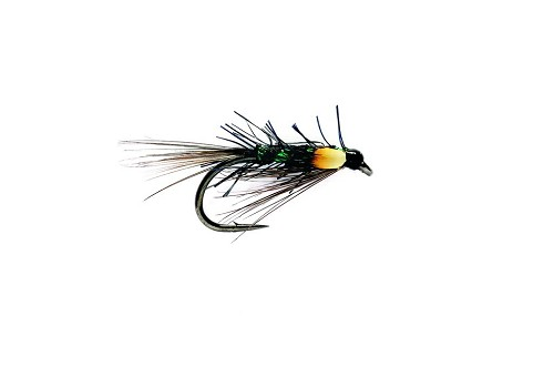FULLING MILL PSEUDO DIAWL BACH BLACK/GREEN RIB 2805 product image
