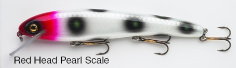 BIG FORK LURES TWITCH DARTER REDHEAD PEARL SCALE x product image