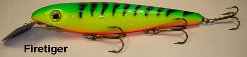 BIG FORK LURES REEF DIGGER FIRE TIGER x product image