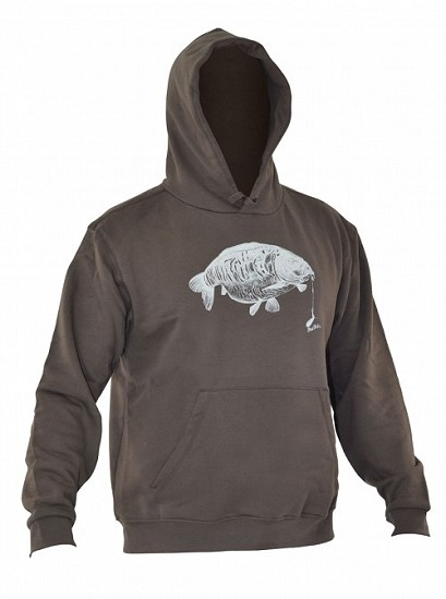 PHAT FISH CARP DESIGN HOODY product image