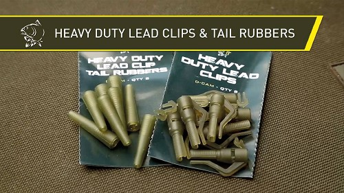 NASH TACKLE HEAVY DUTY EURO TAIL RUBBERS product image