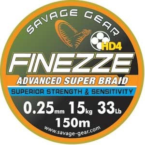 SAVAGE GEAR FINEZZE HD4 BRAID x product image