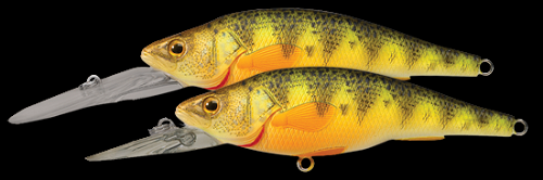 KOPPERS LIVETARGET YELLOW PERCH DEEP DIVER FLORESCENT PERCH 106 product image