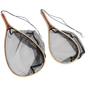 SNOWBEE WOODEN FRAME HAND TROUT LANDING NETS product image