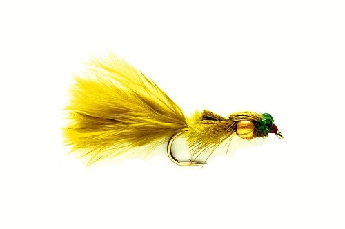 FULLING MILL MARABOU DAMSEL GOLD NUGGET 481 product image