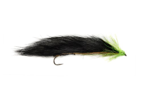 FULLING MILL MINI UN-WEIGHTED SNAKE BLACK & GREEN 9782 product image