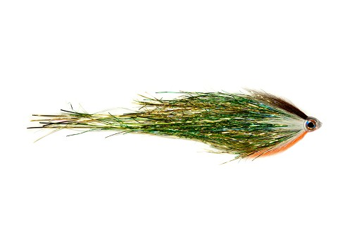 FULLING MILL PIKE TUBE WIGGLE TAIL GREEN 'N' GOLD 9764 product image