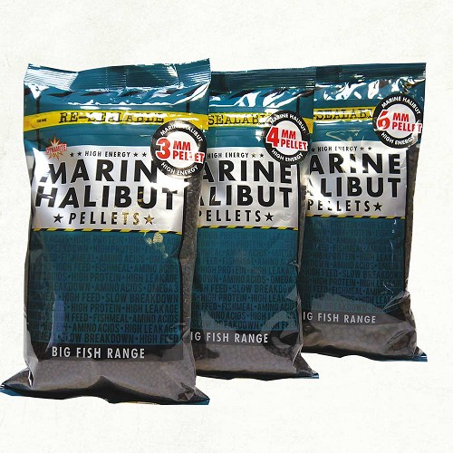 DYNAMITE BAITS MARINE HALIBUT PELLETS 21MM 900G product image