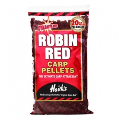 DYNAMITE BAITS ROBIN RED PELLETS 20MM 900G product image