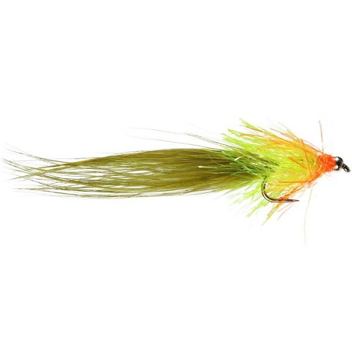 CALEDONIA FLY CO CUT THROAT OLIVE CAT 8049 product image