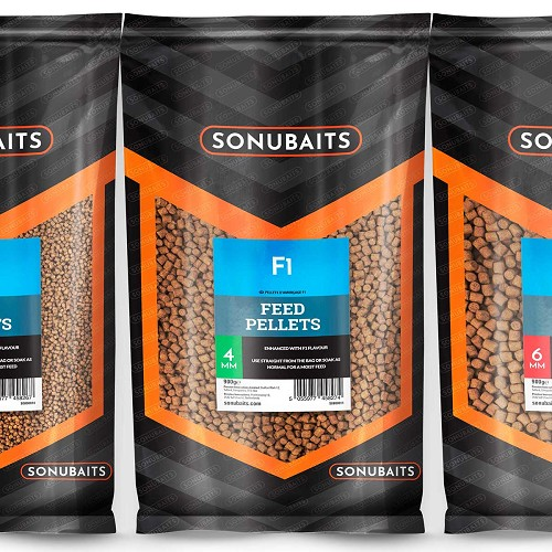 SONUBAITS PELLET F1 FEED PELLETS 2MM product image