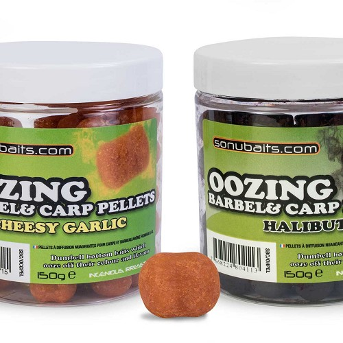 SONUBAITS CARP AND BARBEL - OOZING PELLETS product image