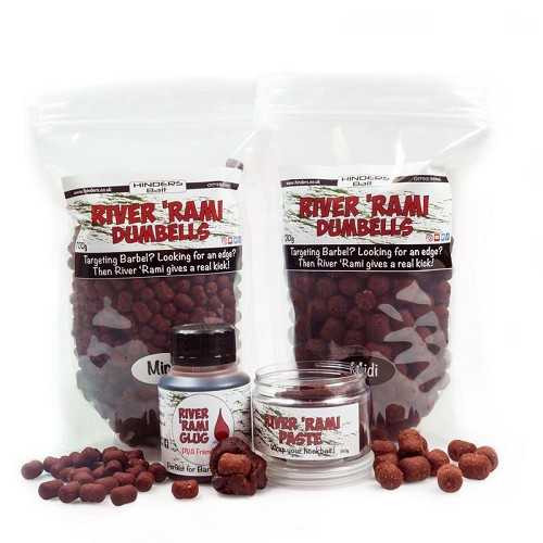 HINDERS BAIT RIVER RAMIZ DUMBELL BOILIE product image