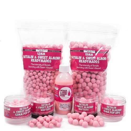HINDERS BAIT BETALIN AND SWEET ALMOND POP UPS 15MM product image