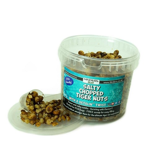 HINDERS BAIT SALTED CHOPPED TIGER NUTS PVA FRIENDLY  product image