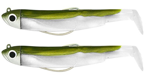 FIIISH BLACK MINNOW DOUBLE COMBO KHAKI  + RATTLE product image