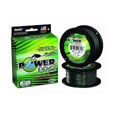 POWER PRO-FLOATING BRAID MOSS GREEN product image