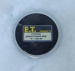 E.T. SINGLE STRAND TITANIUM WIRE product image