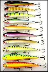 BIG FORK LURES PULSATOR II - CLOWN #08 product image